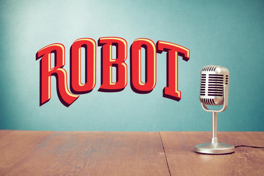 Robot Episodio 38: El Archivo del Podcast está Rayado