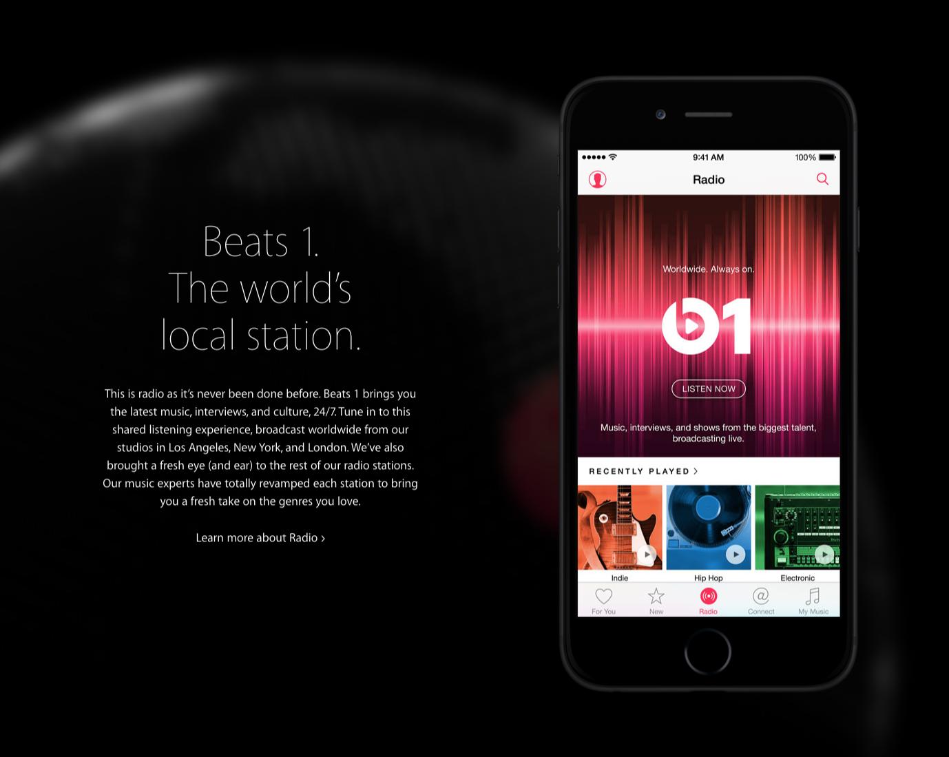 Apple Music, todo está en las listas.