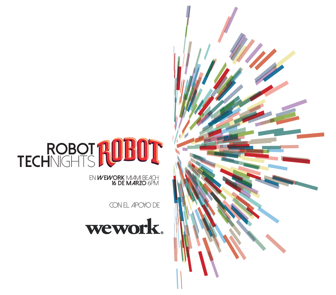 Robot #Technights: Podcasting, este 16 de marzo
