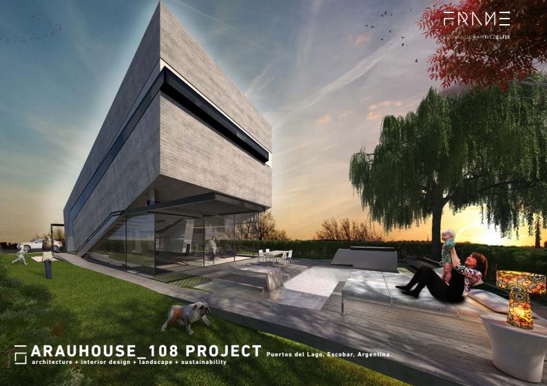 Arquitectura sustentable: Casa Arau_108 en Argentina