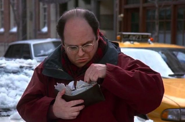 La billetera de George Costanza